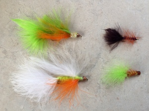 Some great walleye flies.